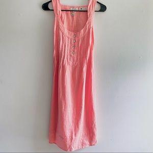 MALVIN Germany pink sleeveless linen dress size 6